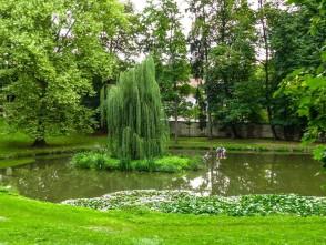 Blansko, zámecká zahrada