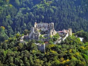 Boskovický hrad zvrtulníku