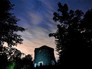 Noční bývalý mlýn na Kořenci