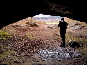 Jeskyně Lidomorna, Holštejn