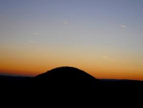 Západ slunce, Velký Chlum