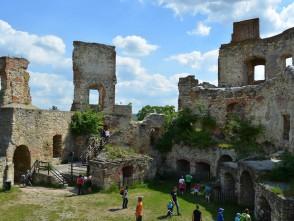 Nádvoří boskovického hradu