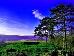 Pohled zHradiska ve Svitávce