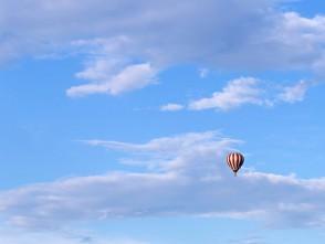 Balon nad Blanskem