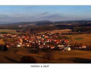 Pohled na Valchov