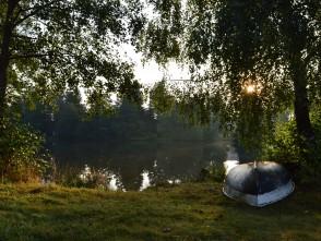 U rybníka na Suchým