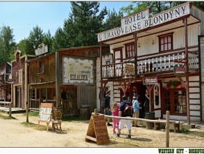 Westernové městečko vBoskovicích