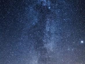 Mléčná dráha nad Býkovicemi