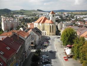 Pohled na boskovské náměstí