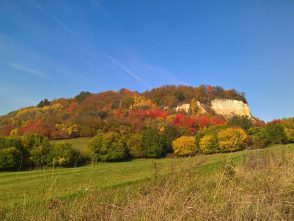 Malý Chlum na podzim